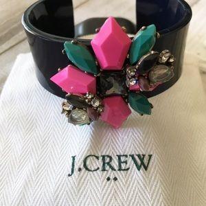 J. Crew Floral Design Bracelet